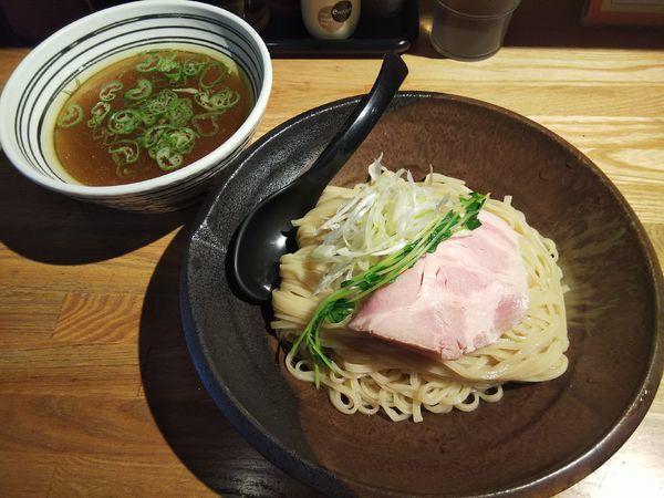「【限定】あっさり塩つけ麺 (大盛り:サービス券)」@麺肴 ひづきの写真