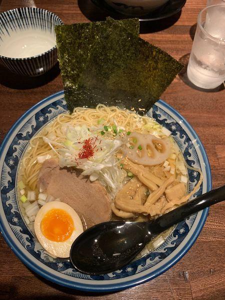 「ひのでやラーメン 大盛」@和風楽麺 四代目 ひのでやの写真