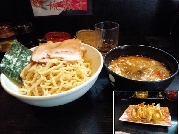 「つけ麺800円」@宗家一条流 八代目直系 がんこラーメン 町屋店の写真