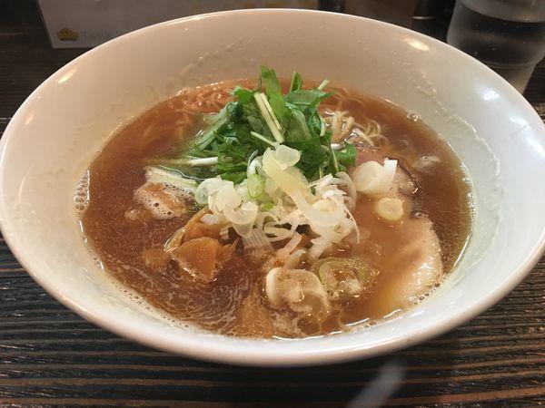 「煮干しそば」@麺屋 和利道 waritoの写真