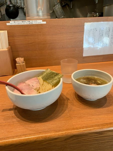 「つけ麺」@煮干中華そば 鈴蘭 新宿店の写真