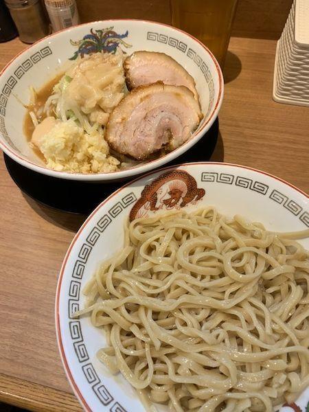 「小 780円(つけ変更+100円・ニンニクアブラWマシマシ)」@ラーメン豚山 上野店の写真