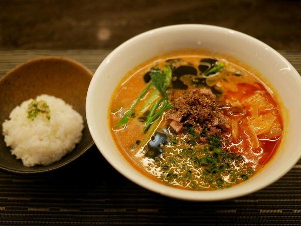 「和牛担々麺」@MENSHOの写真