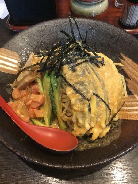 「ゴマ味噌冷やし麺 900円」@味噌屋庄助の写真
