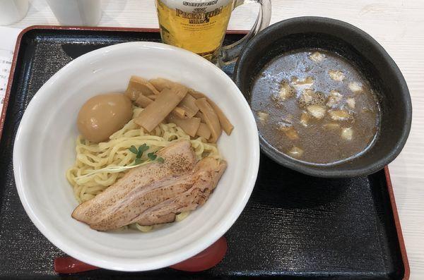 「煮干白湯つけ麺 +味玉」@麺処 景虎 produced by ほん田の写真