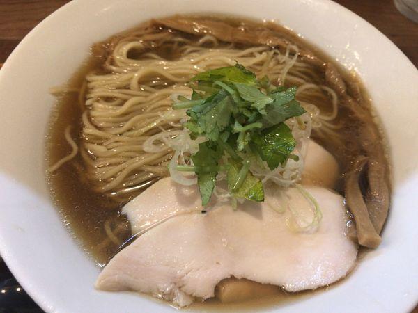 「限定:細麺 冷やし煮干しと貝」@ラーメン 健やかの写真