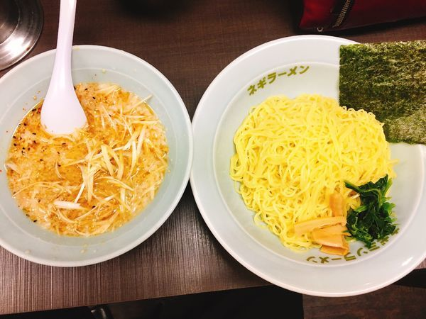 「ネギつけ麺」@ラーメンショップ椿 ひたちなか店の写真