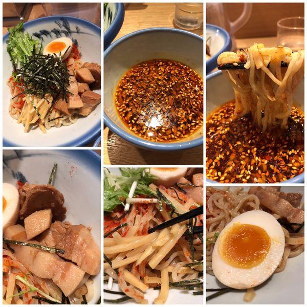 「つけ麺紅露 1260円」@AFURI 恵比寿の写真
