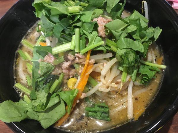 「味噌らー麺」@麺や 神笑の写真