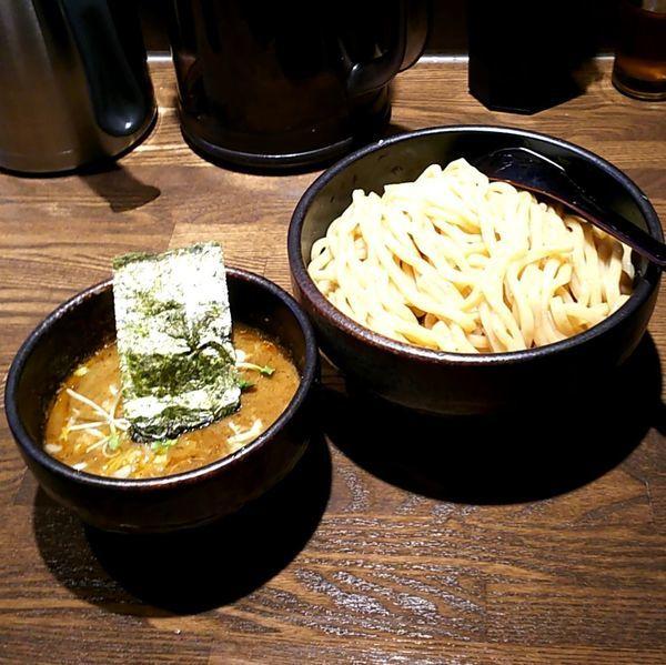 「濃厚つけ麺(極太 350g)」@麺屋 一路の写真