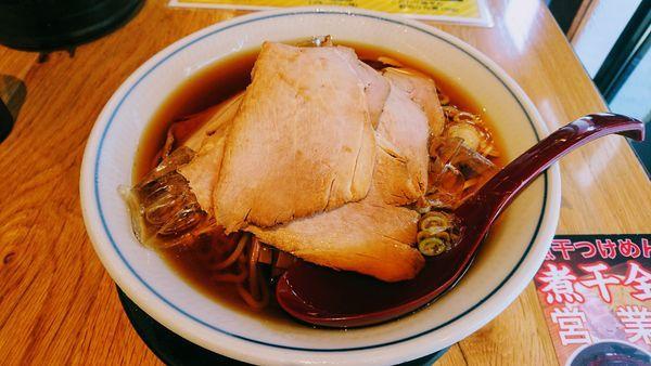 「【夏季限定】冷やし煮干そば(大盛)」@すごい煮干ラーメン凪 五反田西口店の写真