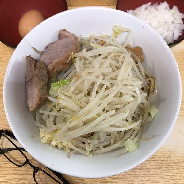 「冷まし汁なし」@ラーメン二郎 環七新新代田店の写真