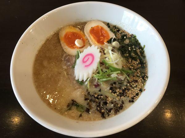 「うおだしそば」@自家製麺 KANARIの写真