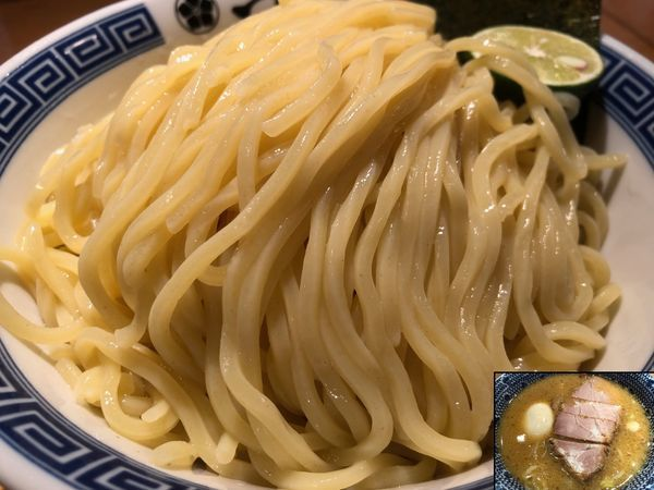 「濃厚特製つけ麺(大)」@つじ田 日本橋八重洲店の写真