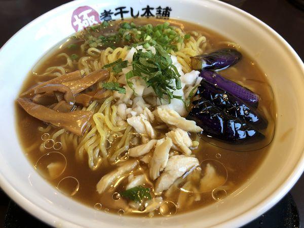 「冷やし煮干しラーメン(大盛)」@極煮干し本舗 東松山店の写真