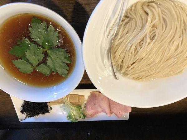 「昆布水鳥醤油つけ麺 200g 650円」@Soupmenの写真