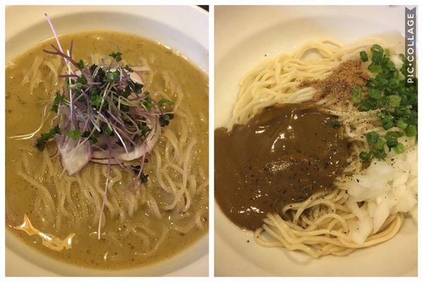「【限定】冷や牡蠣+牡蠣の和え玉」@灰汁中華 丿貫 福富町本店の写真