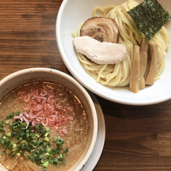 「海老つけ麺」@四代目むじゃきの写真