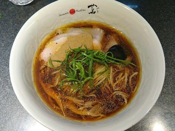 「醤油soba」@Japanese Soba Noodles 蔦の写真