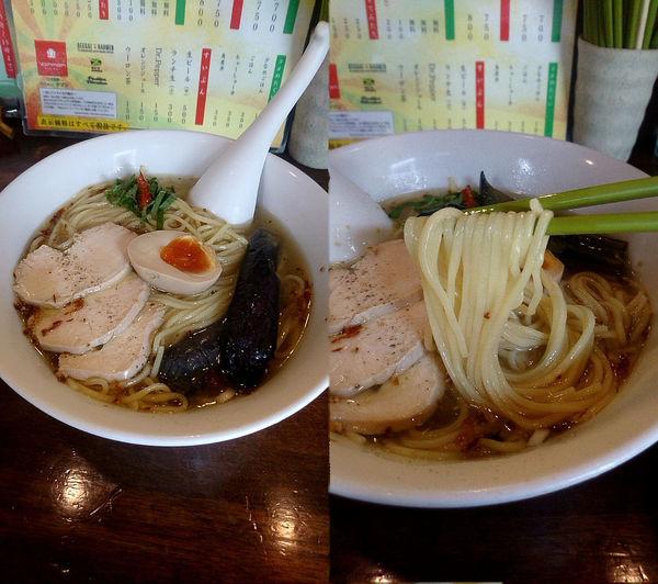 「『鶏の冷た~い塩らはッ!(税込¥1020)』を中盛で…」@ラハメン ヤマンの写真