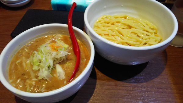 「味噌つけ麺」@らーめん 蓮の写真