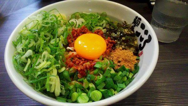 「九条ねぎ増し台湾混ぜそば 大盛」@麺屋 こころ 蒲田店の写真