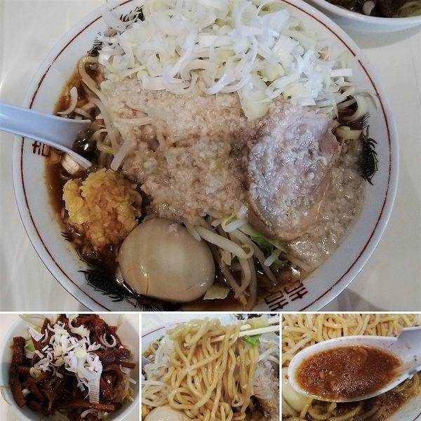 「塩旨辛ラーメン+ネギ+メンマ=1010円」@麺家ぶんすけの写真