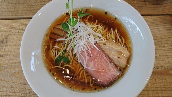 「Kiri_Soba 流山本みりん醤油 800円」@The Noodles & Saloon Kiriyaの写真