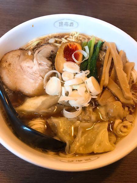 「ワンタン麺」@昆布森の写真