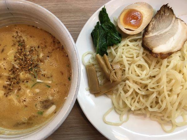 「ごま味噌つけ麺 700円」@天下一らーめんの写真