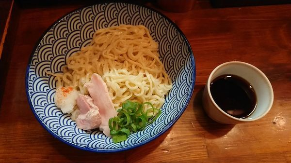 「つめたいつけ麺」@らーめん かねかつの写真