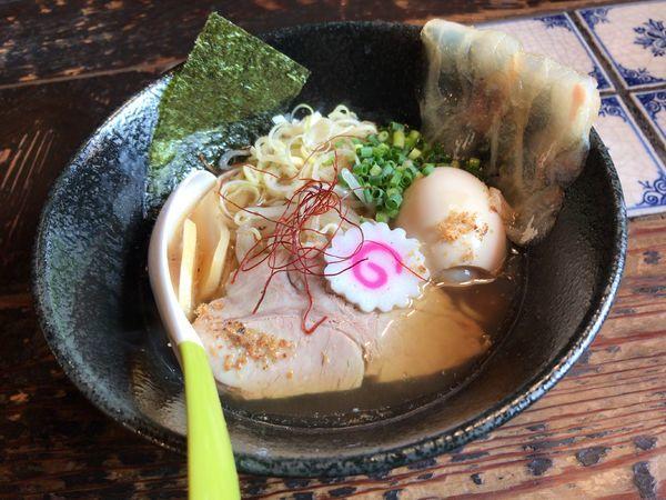 「-kiwami-鯛コク正油らぁ麺」@麺処いっ歩の写真