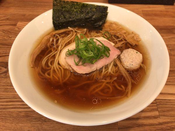 「地鶏」@自家製麺 純の写真