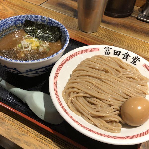 「つけ麺」@松戸中華そば 富田食堂の写真