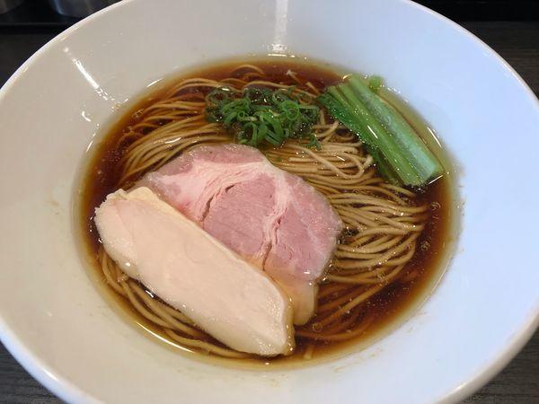 「芳醇鶏そば 醤油  850円」@麺や福はらの写真