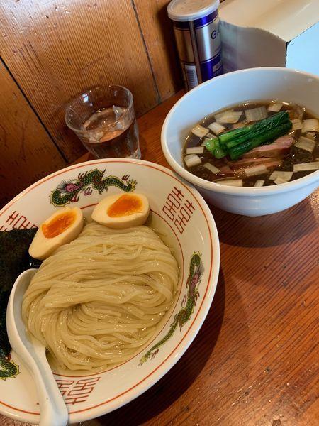 「淡麗つけ麺醤油1000円+特製300円。」@麺処 ほん田の写真