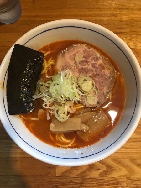 「辛味らー麺 850円」@麺屋はし本の写真