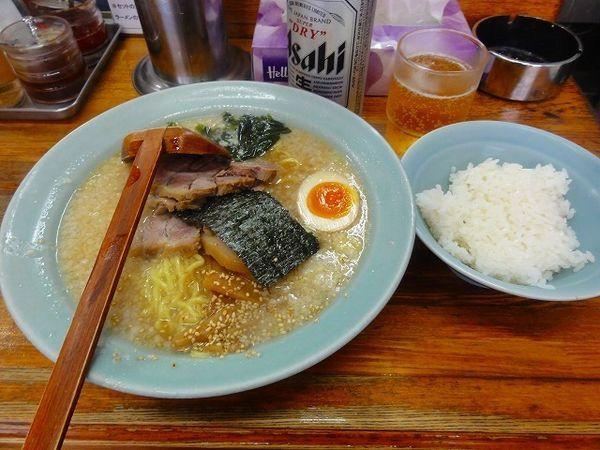 「チャーシュー麺並950円ビール450円 ランチライス無料」@ラーメンHOUSE リュウビの写真