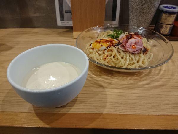 「冷製クリーム豆乳つけ麺」@らーめんMAIKAGURAの写真