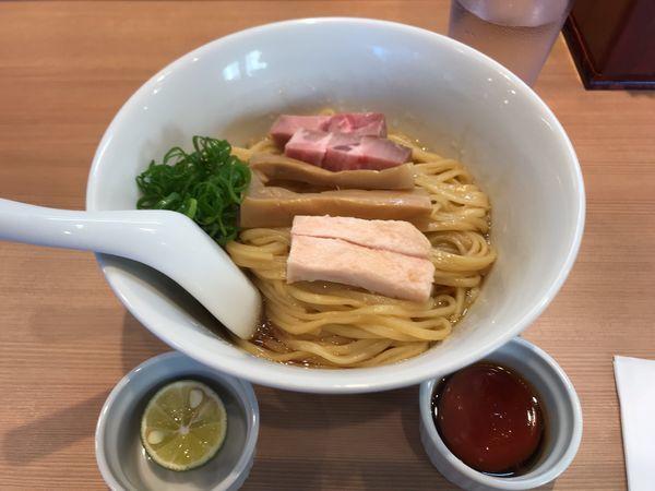 「まぜそば 三段仕込み」@らぁ麺 はやし田 横浜店の写真