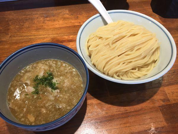 「塩つけ麺¥800+豚ニンニク¥100」@めいげんその写真