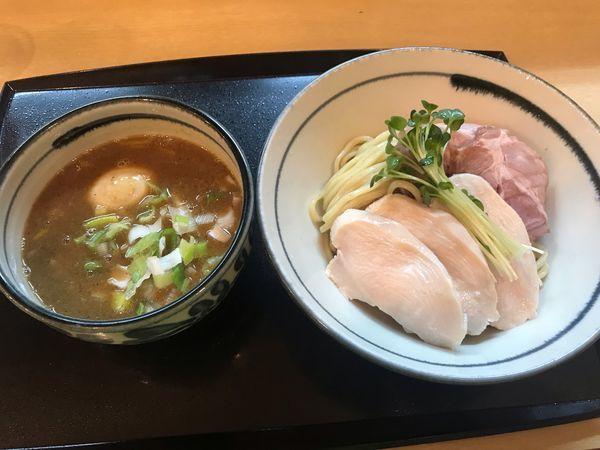 「鶏魚介の特製つけ麺 1,050円」@つけ麺 いな月の写真