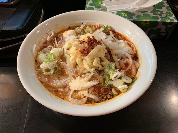 「チーズ坦々麺」@麺家 うえだの写真
