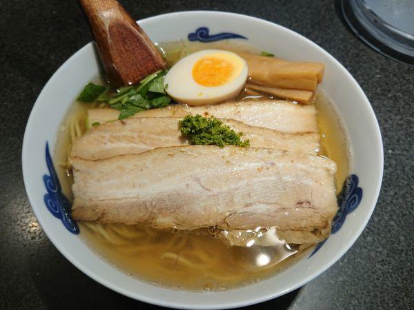「和風柚子焼豚麺」@麺屋ひょっとこ 銀座店の写真