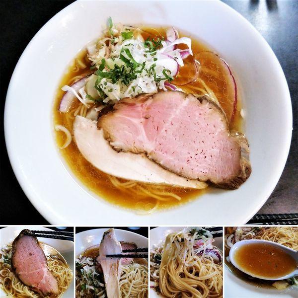 「冷やしそば(醤油)  800円」@麺処 晴の写真