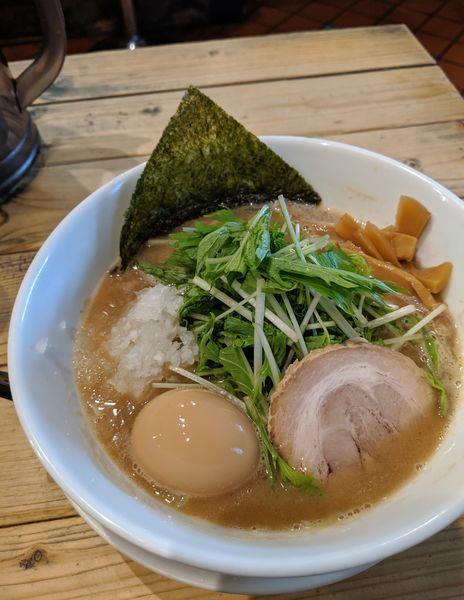 「節そば 820円」@つけ麺 中華そば 節 用賀店の写真