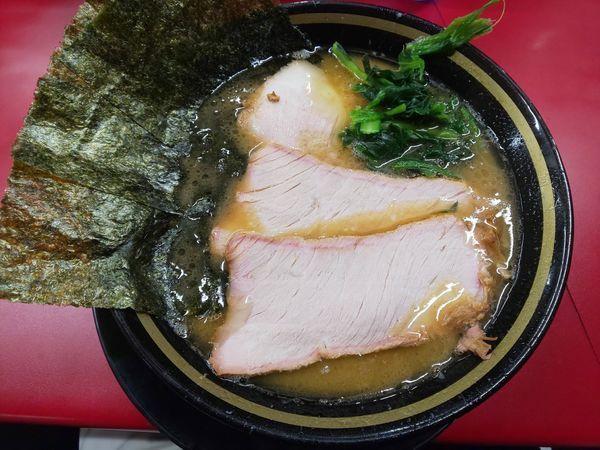 「チャーシュー麺(3枚)」@家系ラーメン 王道家の写真