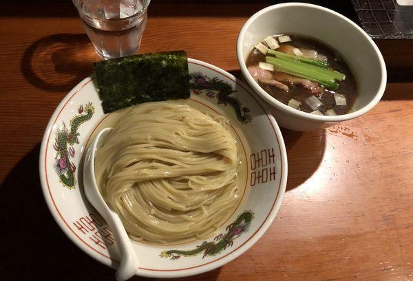 「濃厚昆布水の淡麗つけ麺 醤油」@麺処 ほん田の写真