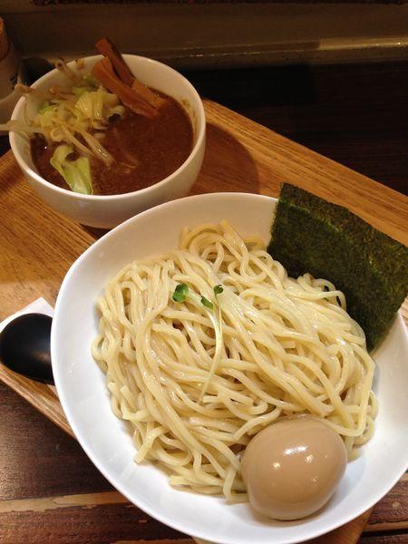 「極濃厚つけ麺 盛り 780円 味玉 100円」@麺屋 冽 -RETSU-の写真