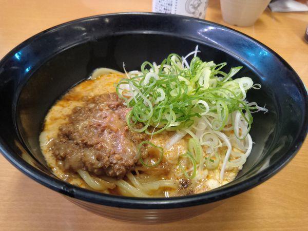 「本格坦々麺410円」@スシロー 環七青井店の写真